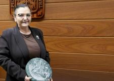 La Dra. Ruth Padilla Muñoz recordó sus años como docente y directora de la Preparatoria 7